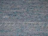 Chodnik lniany, ręcznie tkany, jasno niebieski, 70x120