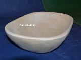 Naczynie drewniane - miska dł. 24 cm, szer. 17 cm