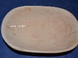 Naczynie drewniane - miska 23x15 cm