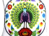 Poduszka dekoracyjna folk paw 20x20 (w-11)