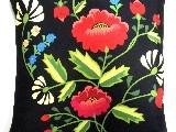 Poduszka dekoracyjna folk maki 50x50 (w-14)