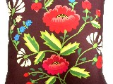 Poduszka dekoracyjna folk maki 40x40 (w-14)