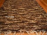Chodnik bawe�niany\pled r�cznie tkany br�zowy jasny, ciemny 65x150