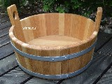 Wooden vessel. Hand made (2)