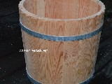 Wooden vessel. Hand made (4)