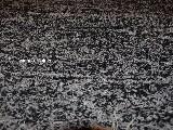 Chodnik bawełniany\pled ręcznie tkany czarno-szary 65x120 cm