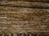 Chodnik bawełniany ręcznie tkany, brązowo-żółto-ecru, 50x120 cm
