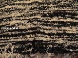 Chodnik bawełniany, ręcznie tkany, brązowo-ecru 65x200