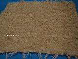 Chodnik bawełniany (wycieraczka) ręcznie tkany jasno beżowy 65x50