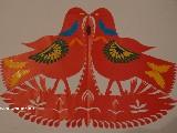 Wycinanka ludowa, kurpiowska - ptaki (czk-3)