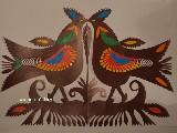 Wycinanka kurpiowska - ptaki (czk-10)