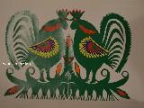 Wycinanka kurpiowska - ptaki (czk-11)