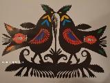 Wycinanka kurpiowska - ptaki (czk-14)