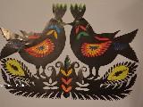 Wycinanka ludowa, kurpiowska ptaki (czk-24)