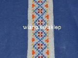 Zakładka haftowana ręcznie (bw-9)