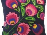 Poduszka ozdobna folk kwiat (023) 40x40