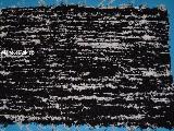 Chodnik bawe�niany (wycieraczka) r�cznie tkany czarno-bia�y 65x50