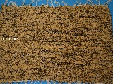 Hand -woven cotton carpet