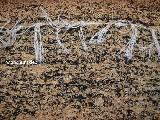 Chodnik bawełniany\pled ręcznie tkany czarno-jasny brąz 65x120 cm