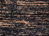Chodnik bawełniany, ręcznie tkany, czarno-szaro-jasny brąz 65x200