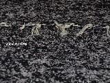 Chodnik bawełniany, ręcznie tkany, czarno-szary 65x200