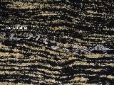Chodnik bawełniany\pled, ręcznie tkany czarno-żółtozłocisty 80x140