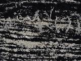 Chodnik bawe�niany, r�cznie tkany, czarno-ecru 80x200