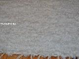Chodnik bawełniany ręcznie tkany biało-ecru 65x200 cm
