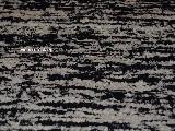 Chodnik bawełniany, ręcznie tkany, czarno-ecru 80x140