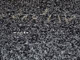 Chodnik bawełniany ręcznie tkany czarno-biały 65x100 cm