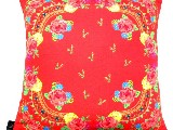 Poduszka dekoracyjna folk - kwiaty  (271) - 20x20 cm