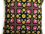 Poduszka dekoracyjna folk - Kwiaty (289) - 50x50 cm