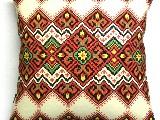 Poduszka dekoracyjna folk - (292) - 20x20 cm
