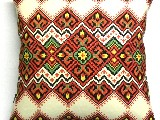 Poduszka dekoracyjna folk - (292) - 40x40 cm