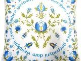 Poduszka dekoracyjna folk, kaszubska