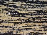 Chodnik bawełniany ręcznie tkany czarno-żółty 65x120 cm
