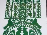 Wycinanka ludowa, kurpiowska - Leluja - drzewko szczęścia, wys. 35 cm (wb-12)