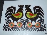 Regional cut-outs -birds - Kurpie (czk-22)
