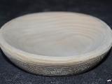 Naczynie drewniane - miseczka płaska śred. ok.14 cm