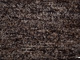 Hand -woven cotton carpet, black-brown 65x100