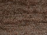 Chodnik bawełniany ręcznie tkany brązowy 65x120 cm