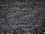 Chodnik bawełniany ręcznie tkany czarno-szary 65x150 cm