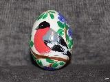 Pisanki edukacyjne Ptaki, jajo kurze, ręcznie malowana (2)