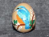 Pisanki edukacyjne Ptaki, jajo kurze, ręcznie malowana (3)