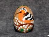 Pisanki edukacyjne Ptaki, jajo kurze, ręcznie malowana (4)