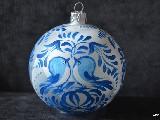 Bombka ręcznie malowana, śred. 10 cm (19)