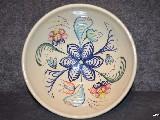 Ceramika bolimowska biała - misa o poj. 2,5 l ręcznie toczona i malowana