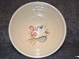 Ceramika bolimowska biała - misa o poj. 2 l ręcznie toczona i malowana (2)