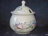Ceramika bolimowska biała  - waza ok. 4 l, wys. 26 cm